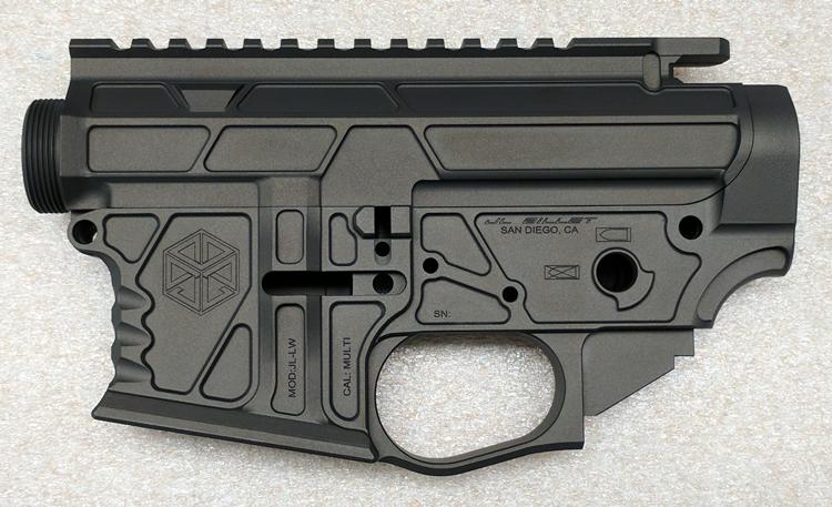 JL Billet AR 15 Skeletor Matched Set