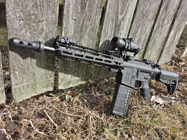 JL Billet AR Angle Cut Free Float Handguard