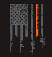JL Billet Flag T Shirt