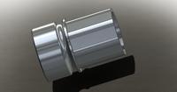 "JL Billet  5.56 Barrel Nut 1.375"" OD (Mil-Spec, Adams Arms Compliant)"