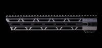 "JL Billet 12.8"" AR15 LRG  Angled M-Lok Free-Float Handguard"