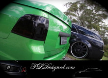 Holden Ve/Vf Black out Tail light covers by FLDesigned   www.fldesigned.com
