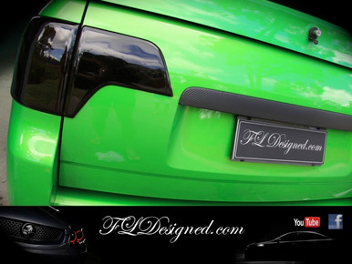 Amazing Ve/ Vf Maloo Styled Blacked Out Tail Light Covers To Suit Ss, Ssv And Amazing Ideas