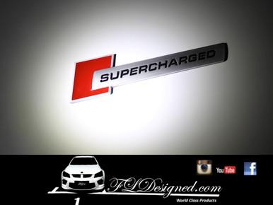 FLDesigned supercharged badges.... available at www.fldesigned.com