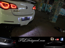 Holden VF Bright White Number Plate L.E.D Bulbs by FLDesigned AKA FLD, get yours now www.fldesigned.com