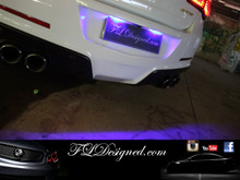 Holden Vf Blue L.E.D Number Plate bulbs by FL Designed aka FLD get yours now www.fldesigned.com