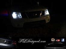 FLDesigned.com Nissan Navara D40 Bright White Parker Bulbs