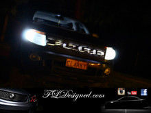 Px Ford Ranger 2012-2015 Bright White L.E.D Parker light bulbs by FL Designed aka FLD, get yours now www.fldesigned.com