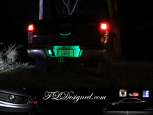 Ford Ranger L.E.D Numberplate bulbs by FL Designed AKA FLD. Get yours now at www.fldesigned.com