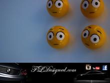 """Guilty"" Tyre valves by FLDesigned aka FLD www.fldesigned.com"