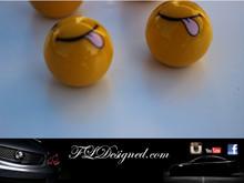 """cheeky"" Tyre Valve caps by FLDesigned aka FLD www.fldesigned.com"