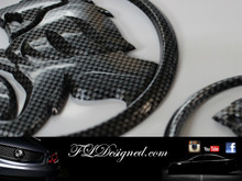 Carbon fibre look Holden badges by FLDesigend aka FLD