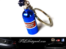 Nos Key ring by FLDesigned aka FLD www.fldesigned.com