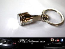 Piston Key Ring By FLDesigned aka FLD www.fldesigned.com