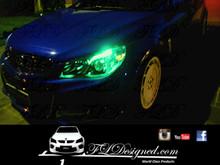 Holden Vf green l.e.d parkers by FL Designed aka FLD www.fldesigned.com  SS, SSv, Sv6, Omega