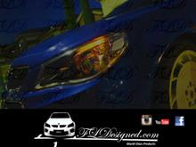 Holden Vf Orange l.e.d parker bulbs by FL Designed aka FLD www.fldesigned.com  SS, SSv, Sv6, Omega