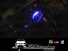 Holden Vf Blue L.e.d parker bulbs by FLDesigned aka FLD www.fldesigned.com  SS, SSv, Sv6, Omega