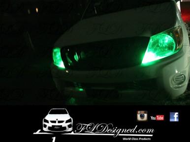 Toyota Hilux Green L.e.d Parkers by FL Designed Aka FLD www.fldesigned.com