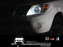 Toyota Hilux Bright white l.e.d parkers by FLDesigned aka FLD www.fldesigned.com