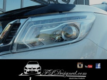 Nissan Navra D23/Np300 Clear headlight covers buh FLDesigned aka FLD www.fldesigned.com