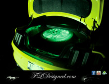 Ford Mustang Boot/ Trunk L.E.D Bulb- Green by FLdesigned  Get yours now at www.fldesigned.com