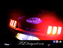 Ford Mustang Boot/ Trunk L.E.D Bulb- PINK by FLdesigned  Get yours now at www.fldesigned.com