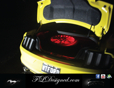 Ford Mustang Boot/ Trunk L.E.D Bulb- RED by FLdesigned  Get yours now at www.fldesigned.com