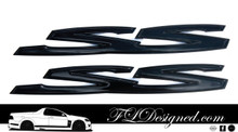 Holden Ve/ Vf Gloss Black Holden Badges by FLDesigned
