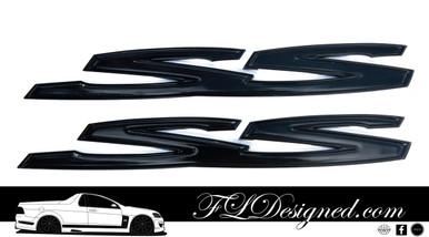 Holden Ve/ Vf Gloss Black Holden Badges by FLDesigned