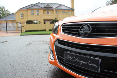 FLDesigned Black Holden Badges www.fldesigned.com