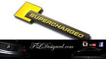 Supercharged Badges- Yellow