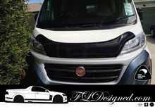 2015-2020 Fiat Ducato Van Dark Tint Bonnet Protector www.fldesigned.com