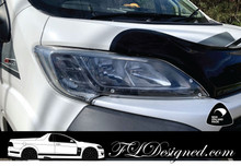 2015-2020+ Fiat Ducato Clear Headlight Covers  www.FLDesigned.com