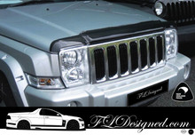 2006-2010 Jeep Commander Clear headlight covers