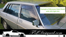 1980-1983  Holden Commodore VA,VB,VC Monsoon Weather Shields / Rain guards/ shields (2 pcs)