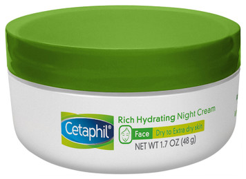 Rich Hydrating Night Cream with Hyaluronic Acid