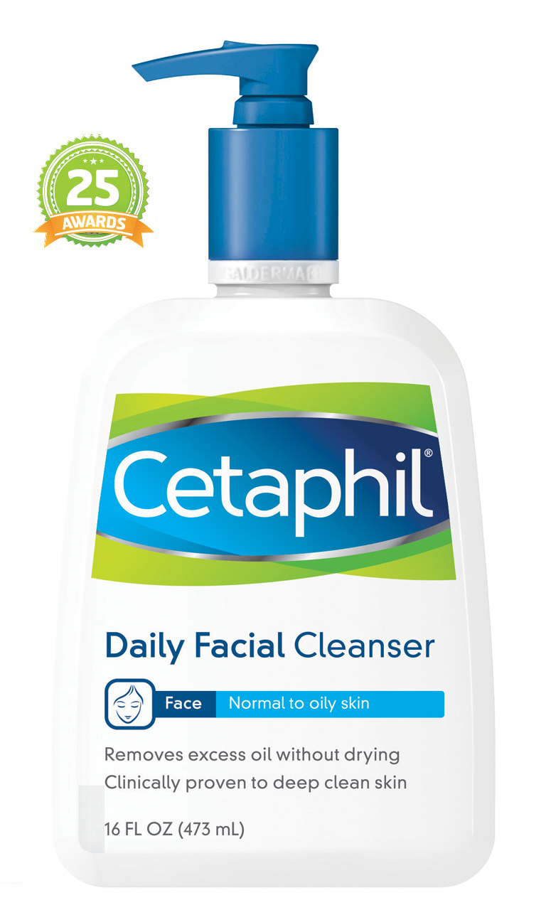 Daily facial cleansing