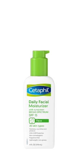 Daily Facial Moisturizer With Spf 15 Cetaphil