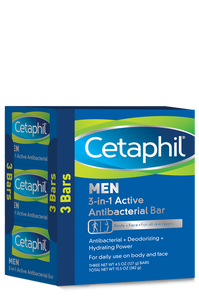 Men 3-in-1 Active Antibacterial Bar