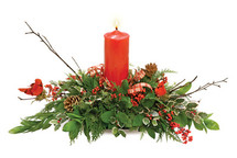 Everlasting Holiday Centerpiece