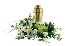 Honored Remembrance Urn Arrangement