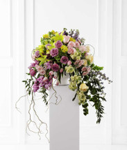 Display of Affection Sympathy Flower Arrangement With Roses