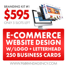 Cheap Quality Customer Website with business cards and logo design.