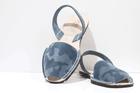 Menorcan Sandals - Navy Camo Suede Unisex - Solillas