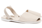 Off-white Leather Mens | Menorcan Sandals | Solillas