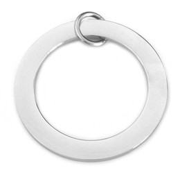 Premium Washer - LRG (38mm) SILVER