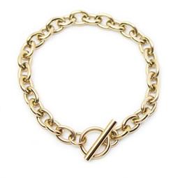 316-TBG Toggle Bracelet 19cm GOLD
