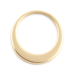 Premium Offset Circle - LRG (35mm) GOLD