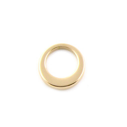 Premium Offset Circle - SML (18mm) GOLD