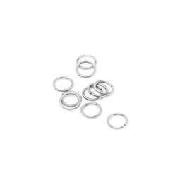 316-JR8S Jump Ring 8mm Silver